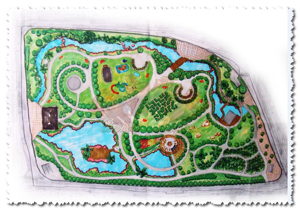 公园景观设计图
